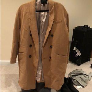 Over sized banana republic jacket